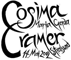 geb. Cosima Cramer