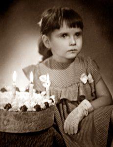 Jana der 4 Geburtstag