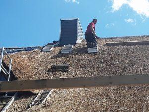 Nico beim klettern